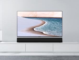 Новий саунбар LG GX забезпечує чудову якість звучання та ідеально поєднується з OLED-телевізорами GX Gallery