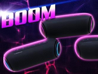 ERC представляє нову категорію LG – портативні акустичні системи XBOOM Go!