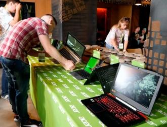 Представництво Acer в Україні презентувало нові ноутбуки