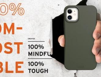 Нова серія OUTBACK від UAG: безпека смартфона і навколишнього середовища!