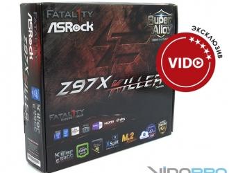 Обзор материнской платы ASRock Fatal1ty Z97X Killer: игра без лагов