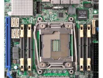 ASRock Rack представил серверную материнскую плату формата Mini-ITX с разъемом LGA2011-3