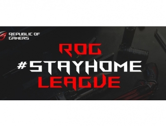 Приєднуйтесь до ROG #STAYHOME LEAGUE – вигравайте призи!