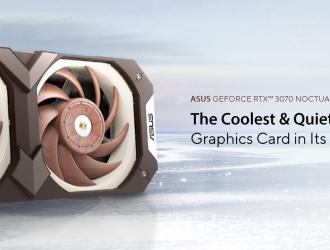 ASUS представляє відеокарту GeForce RTX 3070 Noctua Edition