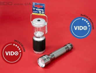 Обзор фонарей Varta Multi LED Aluminium Light 2C и XS Camping Lantern LED 4AA
