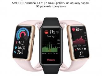 Huawei Band 6 встановив рекорд в Україні: за перші три дні було реалізовано 1500 гаджетів