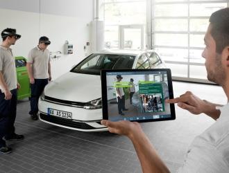 Bosch проводить навчання співробітників за допомогою технології доповненої реальності