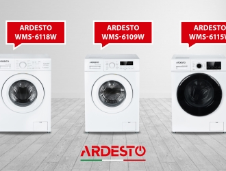 Автоматичні пральні машини Ardesto – багато програм для різних типів тканин