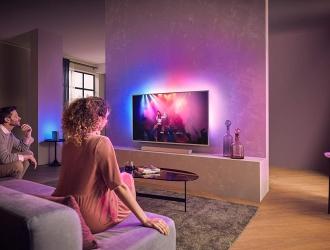 Потужний звук у будь-якій кімнаті з новими акустичними системами Philips