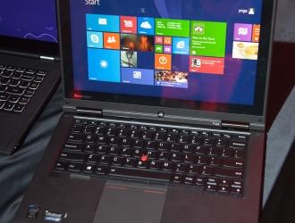 В Украине официально представлен корпоративный ультрабук Lenovo ThinkPad Yoga
