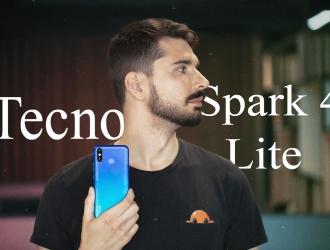 TECNO SPARK 4 LITE: стильний та сучасний смартфон