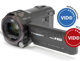 Обзор видеокамеры Panasonic HC-V730: для любителей и энтузиастов