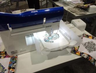 Новая швейная машинка Brother The Dream Machine вышивает лучше бабушек