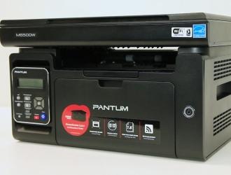 Огляд лазерного БФП Pantum M6500W та комплекту для перезаправлення TN-210
