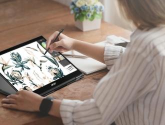 Ноутбук-трансформер Acer Spin 5: творчий помічник, що завжди поруч