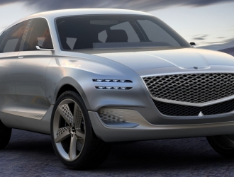Genesis представив перший водневий кросовер GV80 Fuel Cell Concept