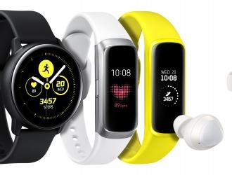 В Україні почались продажі нових Galaxy Watch Active