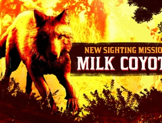 Нова Sighting Mission: Legendary Milk Coyote був помічений в околицях Blackwater