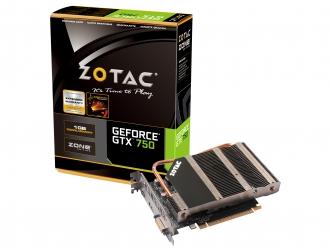 Абсолютно бесшумная видеокарта ZOTAC GeForce GTX 750 ZONE Edition
