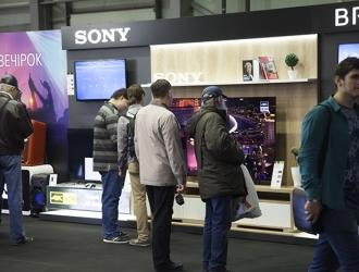 CEE 2016: стенд Sony