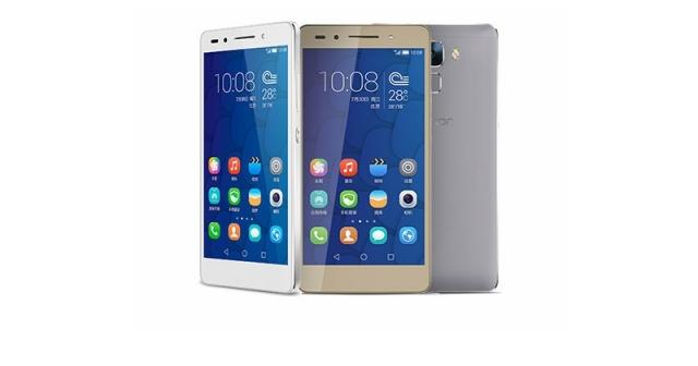 Huawei Honor 7 с мультифункциональным сканнером отпечатков пальцев
