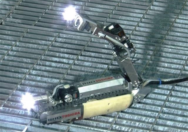 Робот-скорпион проберется на атомную электростанцию в Фукусиме
