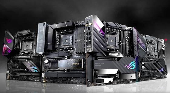 ASUS представляє чотири нові материнські плати серії X570