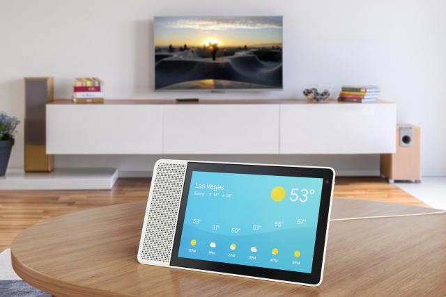 Lenovo представляє цифрового помічника Smart Display з вбудованим інтерфейсом Google Assistant