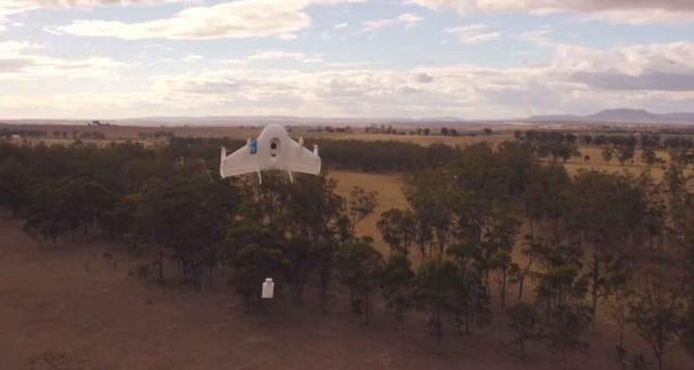 Google тестирует дронов под присмотром НАСА