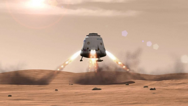 Капсула SpaceX Dragon может посылать образцы грунта с Марса на Землю