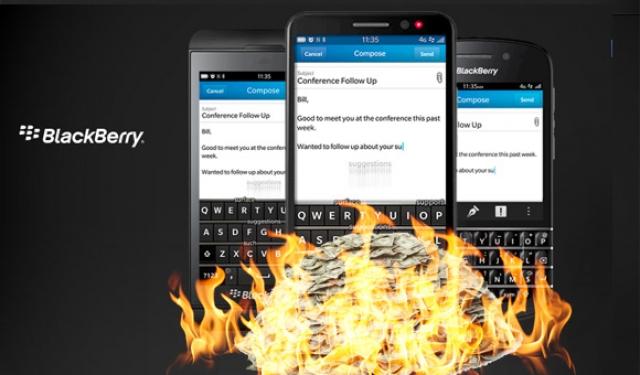 BlackBerry и Boeing работают над первым смартфоном с функцией самоуничтожения
