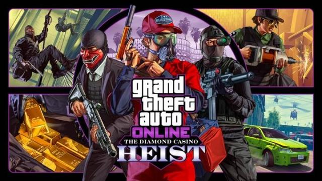 The Diamond Casino Heist: оновлення вже доступне для GTA Online