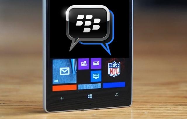 Мессенджер BBM для Windows Phone выйдет в июле