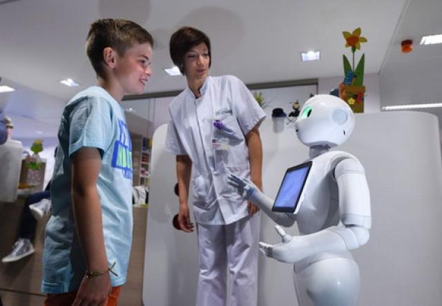 Робот-помічник в бельгійських лікарнях