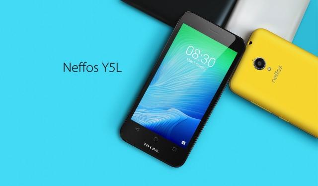 TP-LINK Neffos Y5L: доступный Dual SIM смартфон с Android 6.0