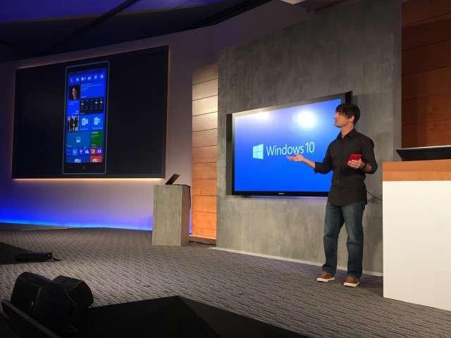 Microsoft Windows 10 стремится захватить мобильный рынок