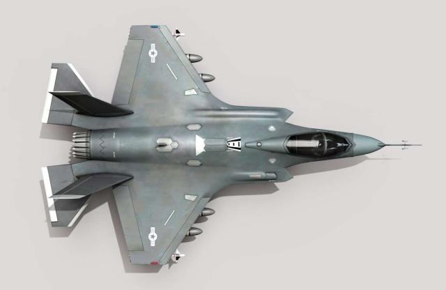 Воздушные бои будущего будут беспилотными