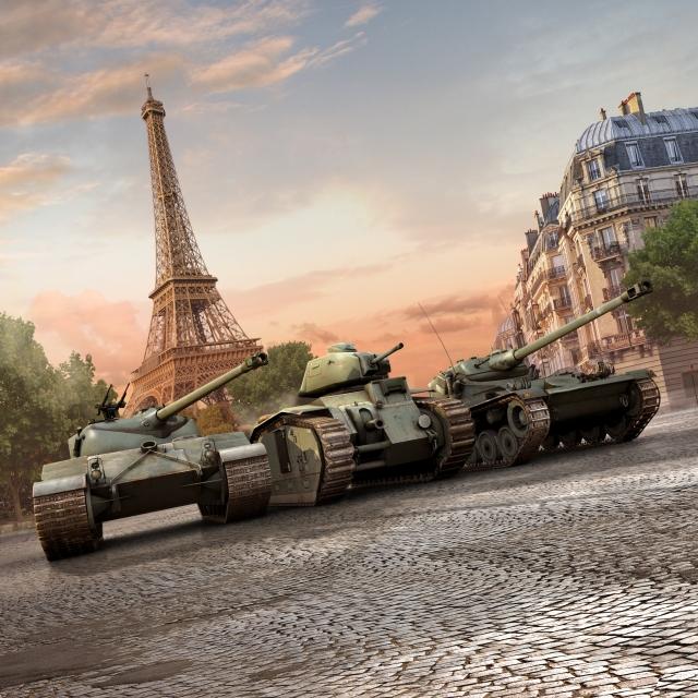 "Обновление World of Tanks ""Французский легион"""