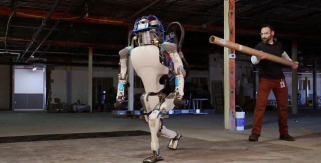 Boston Dynamics представили нового робота Atlas