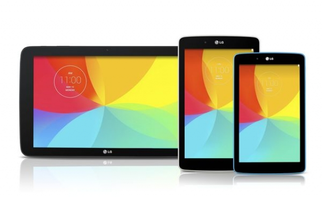 Новые модели LG G Pad