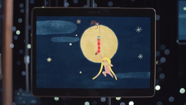 Samsung показала рождественскую короткометражку, снятую на 74 девайса линейки Galaxy
