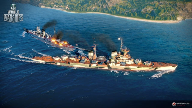 World of Warships: команды, в бой!