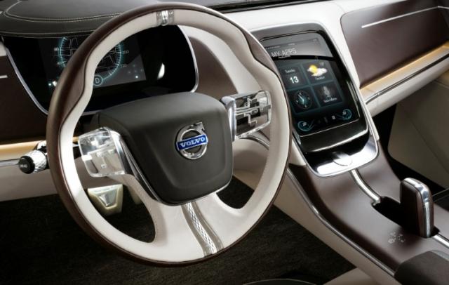 Human Machine Interface: новый интерфейс для автомобилей Volvo похож на планшет