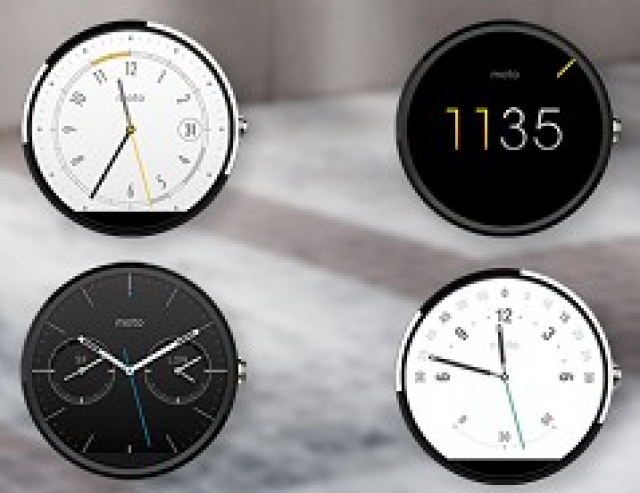 Motorola представит золотую версию умных часов Moto 360