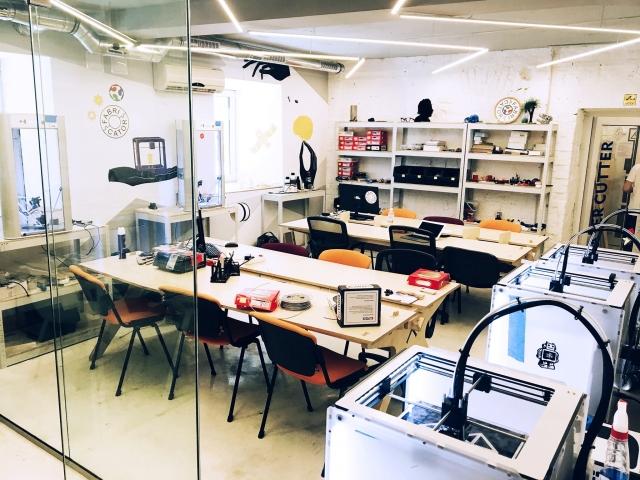 Открытие инновационной лаборатории FabLab Fabricator в Киеве