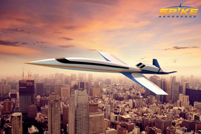 Spike Aerospace зібрали перший демонстратор надзвукового бізнес-джету S-512