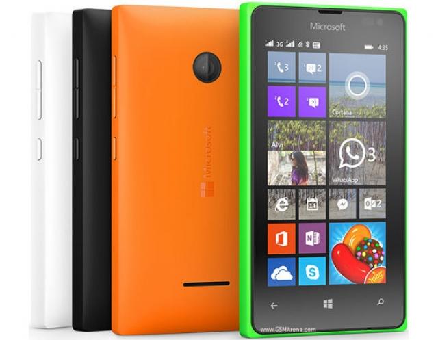 Смартфон Microsoft Lumia 435 с поддержкой двух SIM-карт стал доступен в Индии