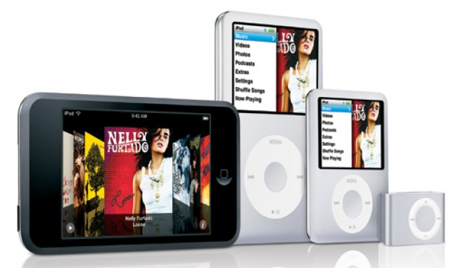 iPod на Новый год