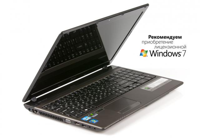 Ноутбук Acer AS5750G-2434G75Mnkk