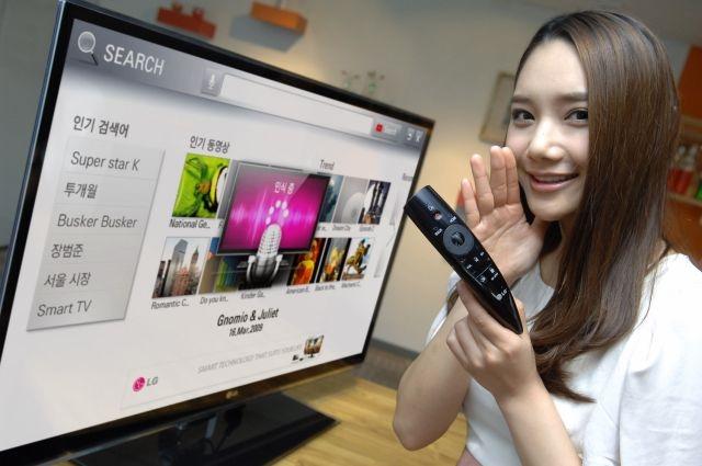 LG Magic Motion: волшебный ключ к телевизору LG CINEMA 3D Smart TV